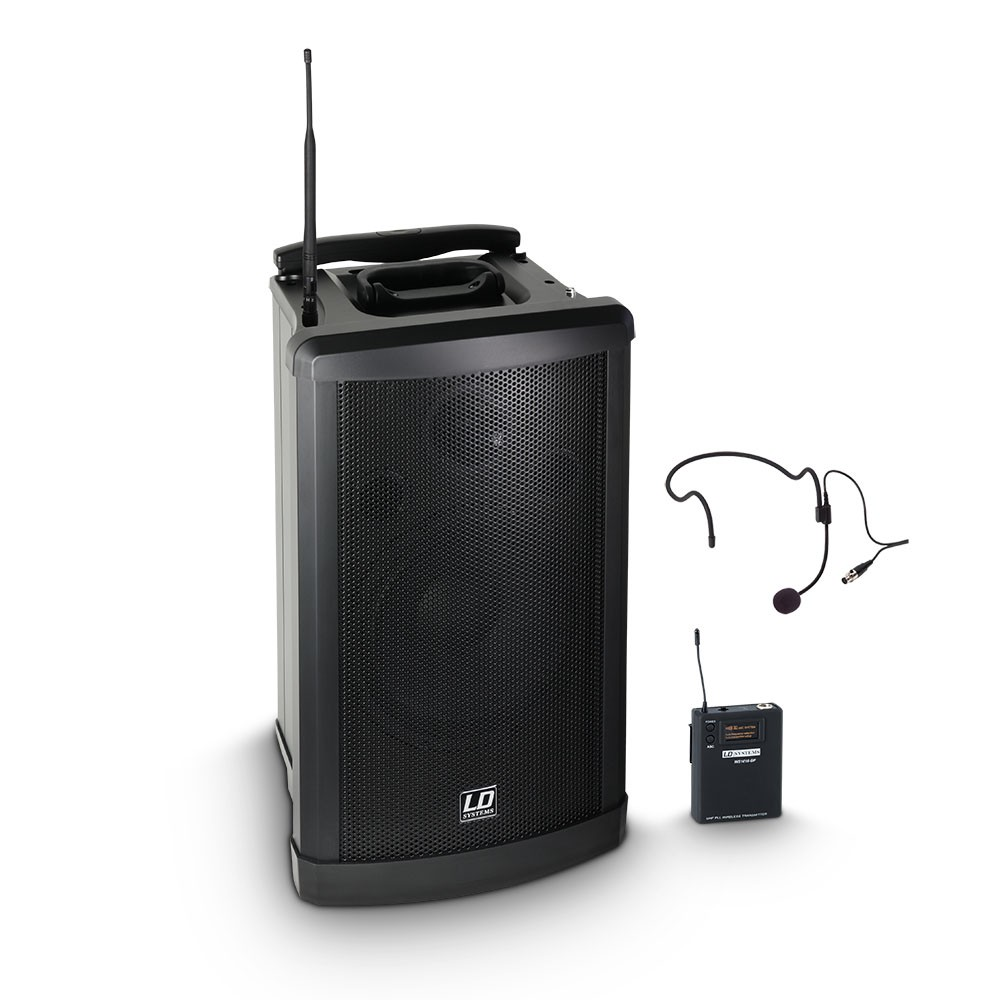 Roadman 102 HS B 6 Portable PA Speaker with Headset