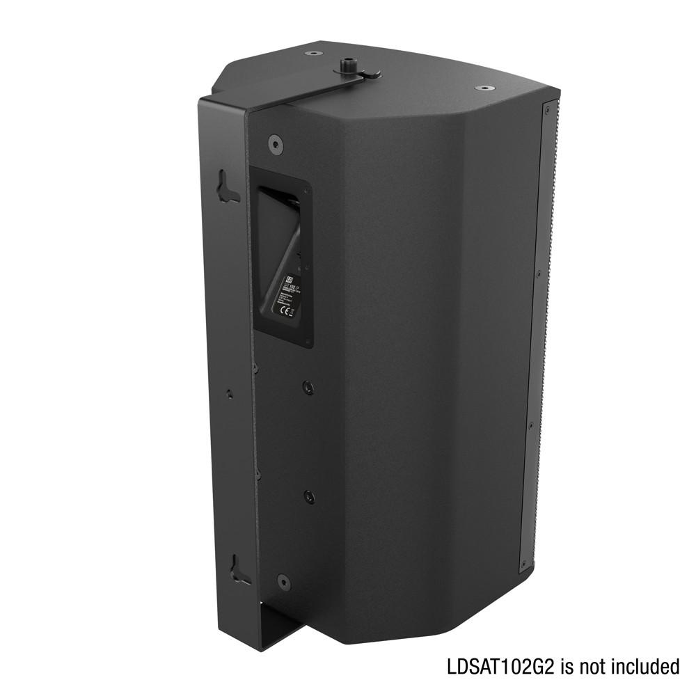 SAT 102 G2 WMB Schwenkbare Wandhalterung für SAT 102 G2 schwarz
