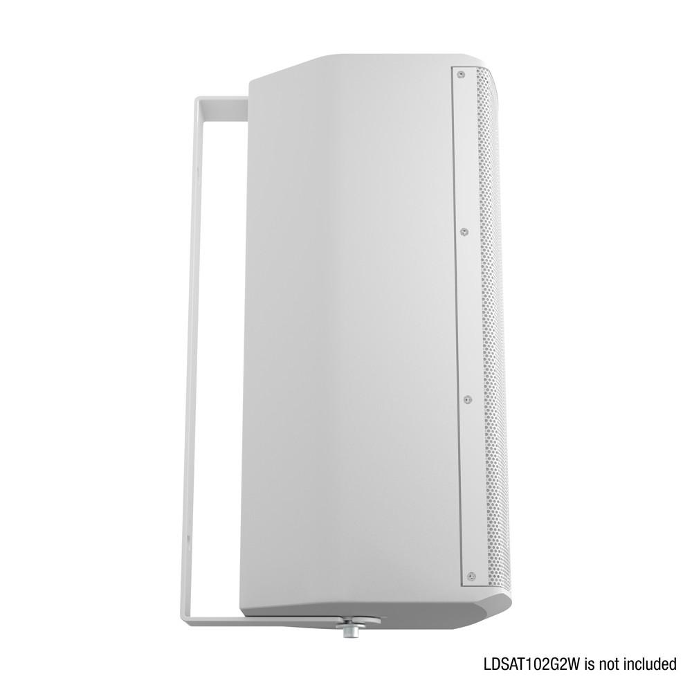 SAT 102 G2 WMB W Schwenkbare Wandhalterung für SAT 102 G2 weiß