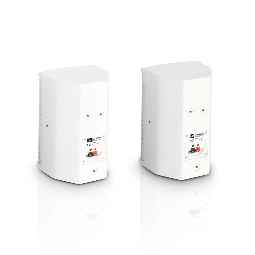 "SAT 42 G2 W 4"" passive Installation Monitor white (pair)"