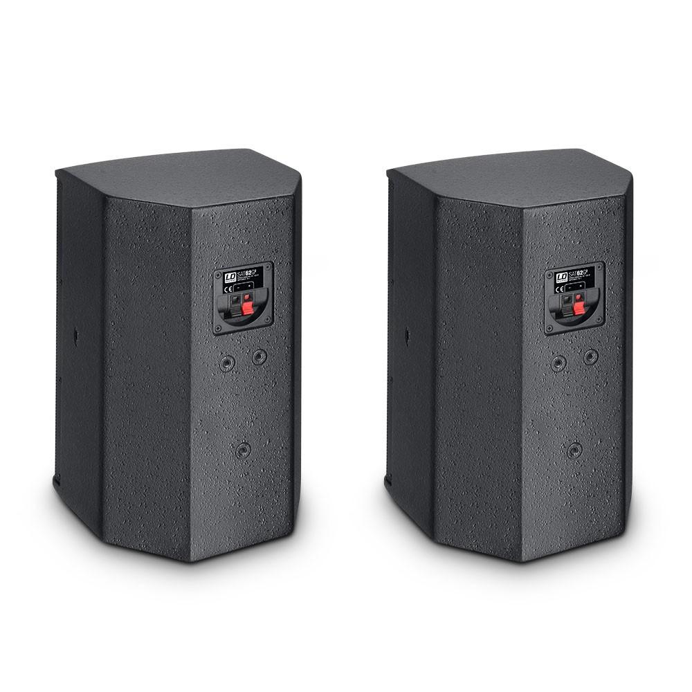 "SAT 62 G2 6.5"" Installation Monitor passive black (pair)"