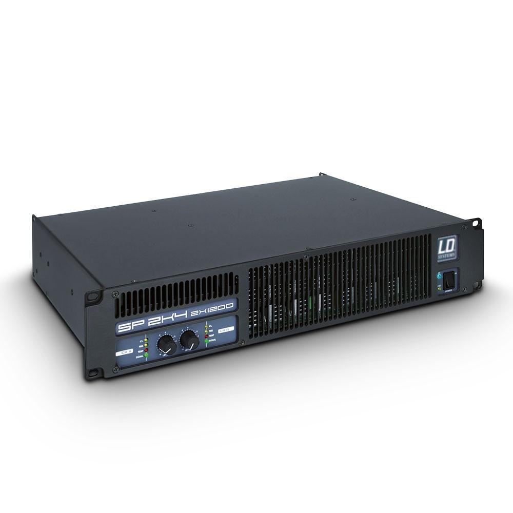 SP 2K4 Amplificador de PA 2 x 1.190 W 2 Ohmios