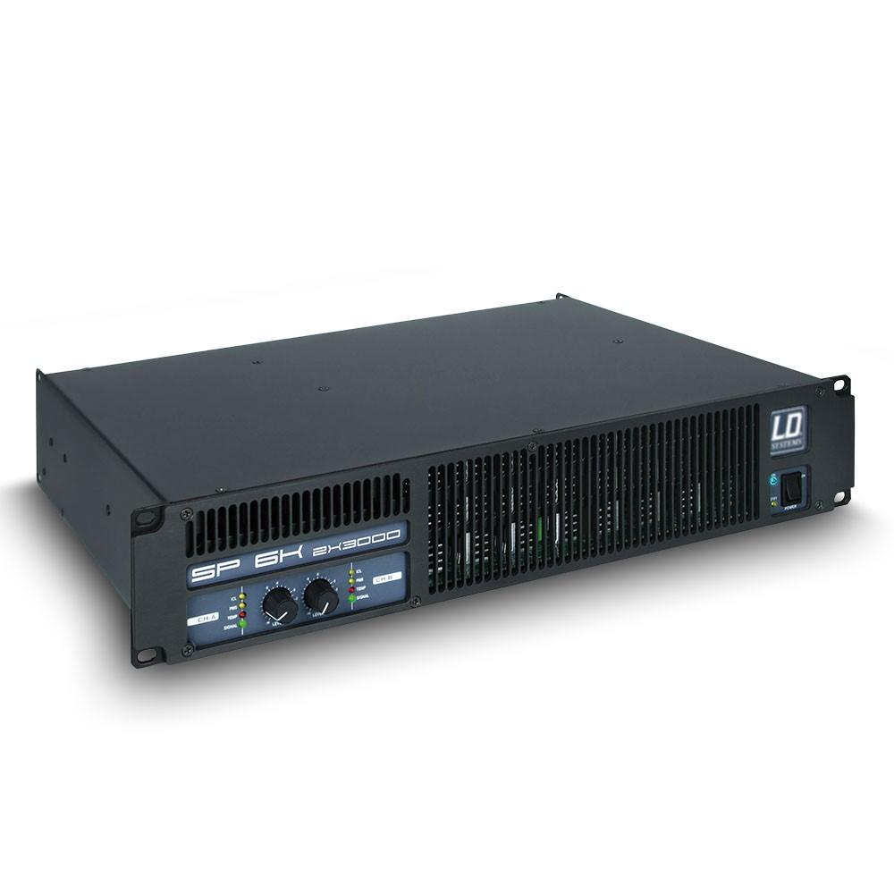 SP 6K Amplificador de PA 2 x 2.950 W 2 Ohmios