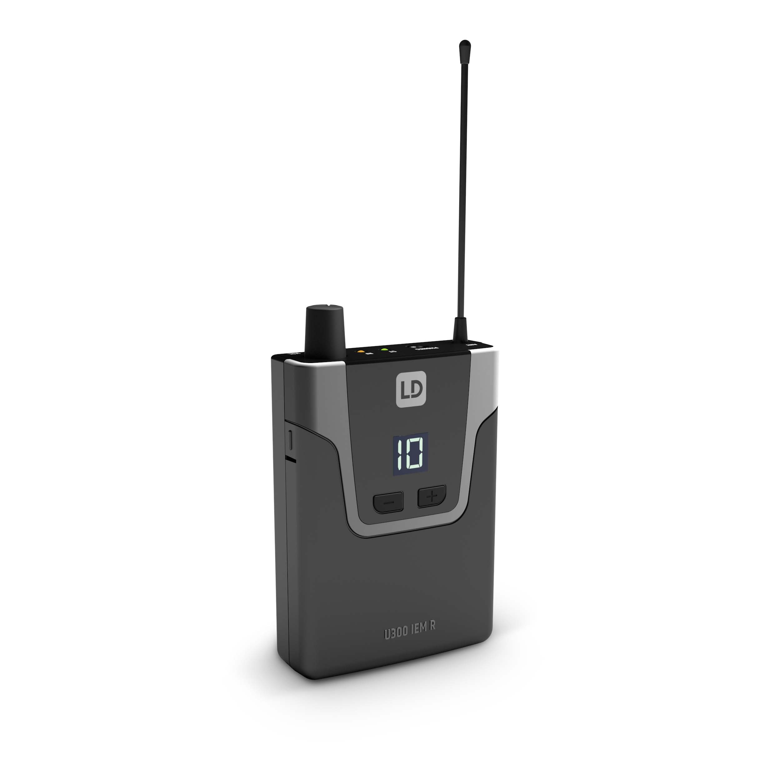 U304.7 IEM HP In-Ear Monitoring System mit Ohrhörern
