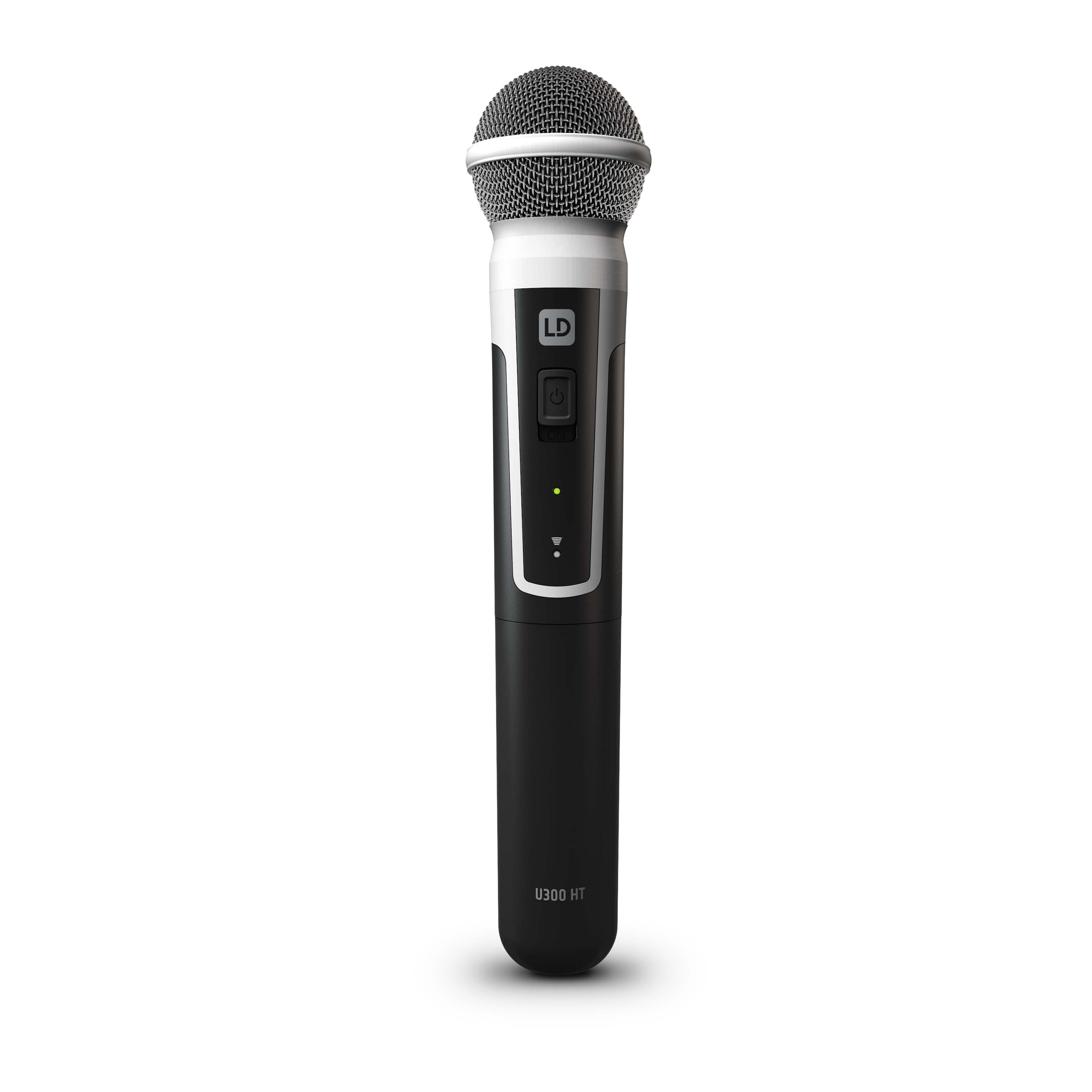 U305.1 HHD Wireless Microphone System with Dynamic Handheld Microphone