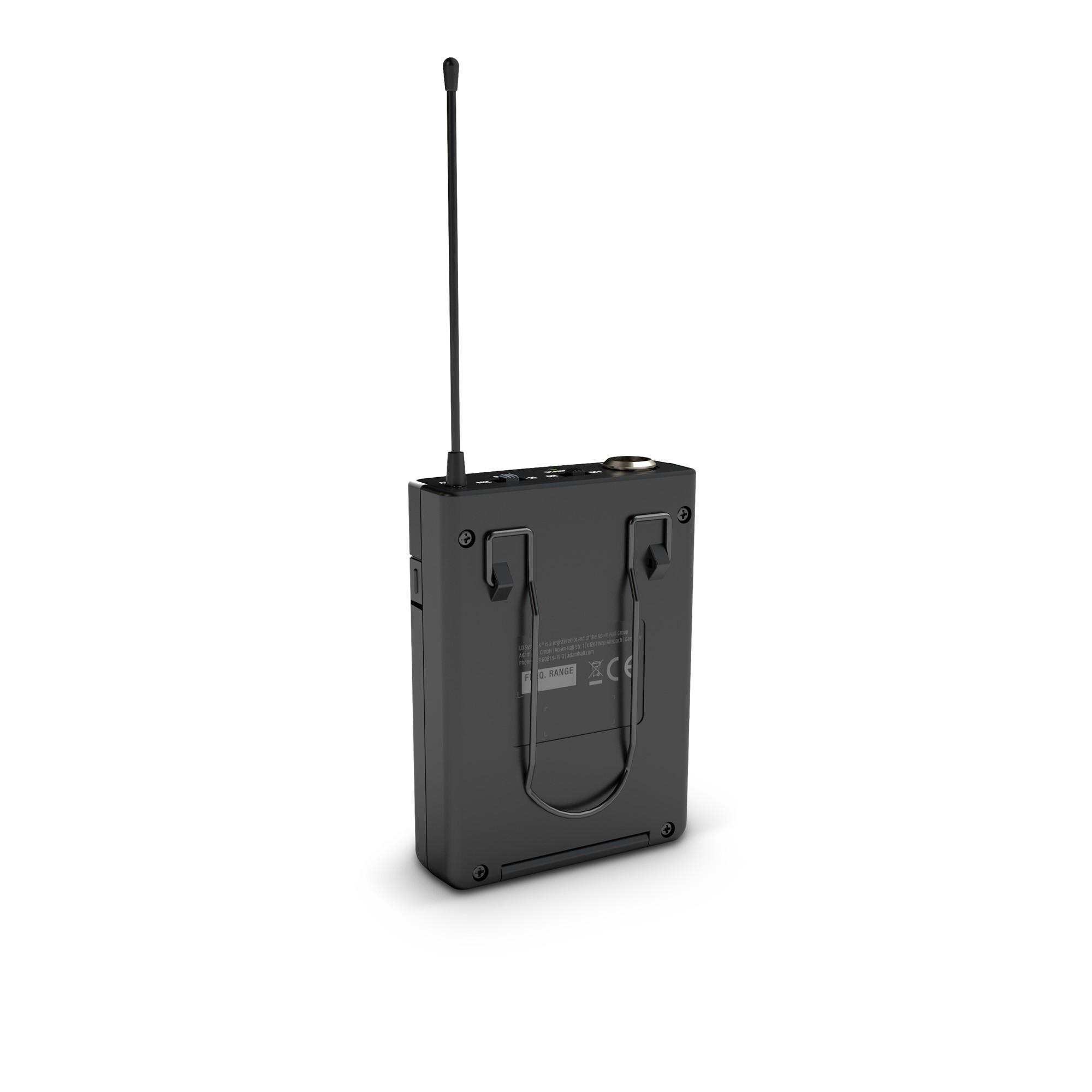 U305 BPL Funksystem mit Bodypack und Lavalier Mikrofon