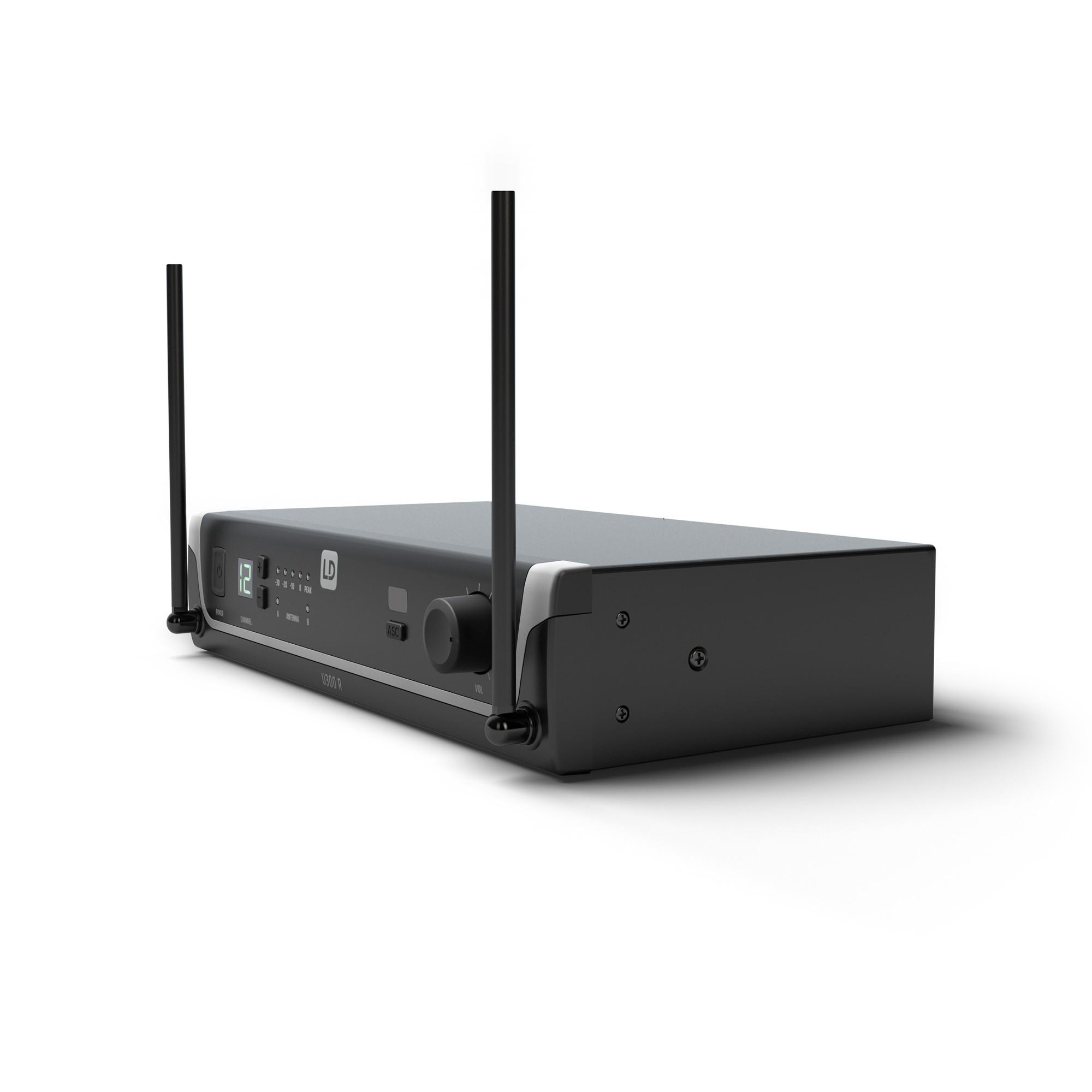 U305 HHD Système de Micro sans Fil avec Micro Main dynamique