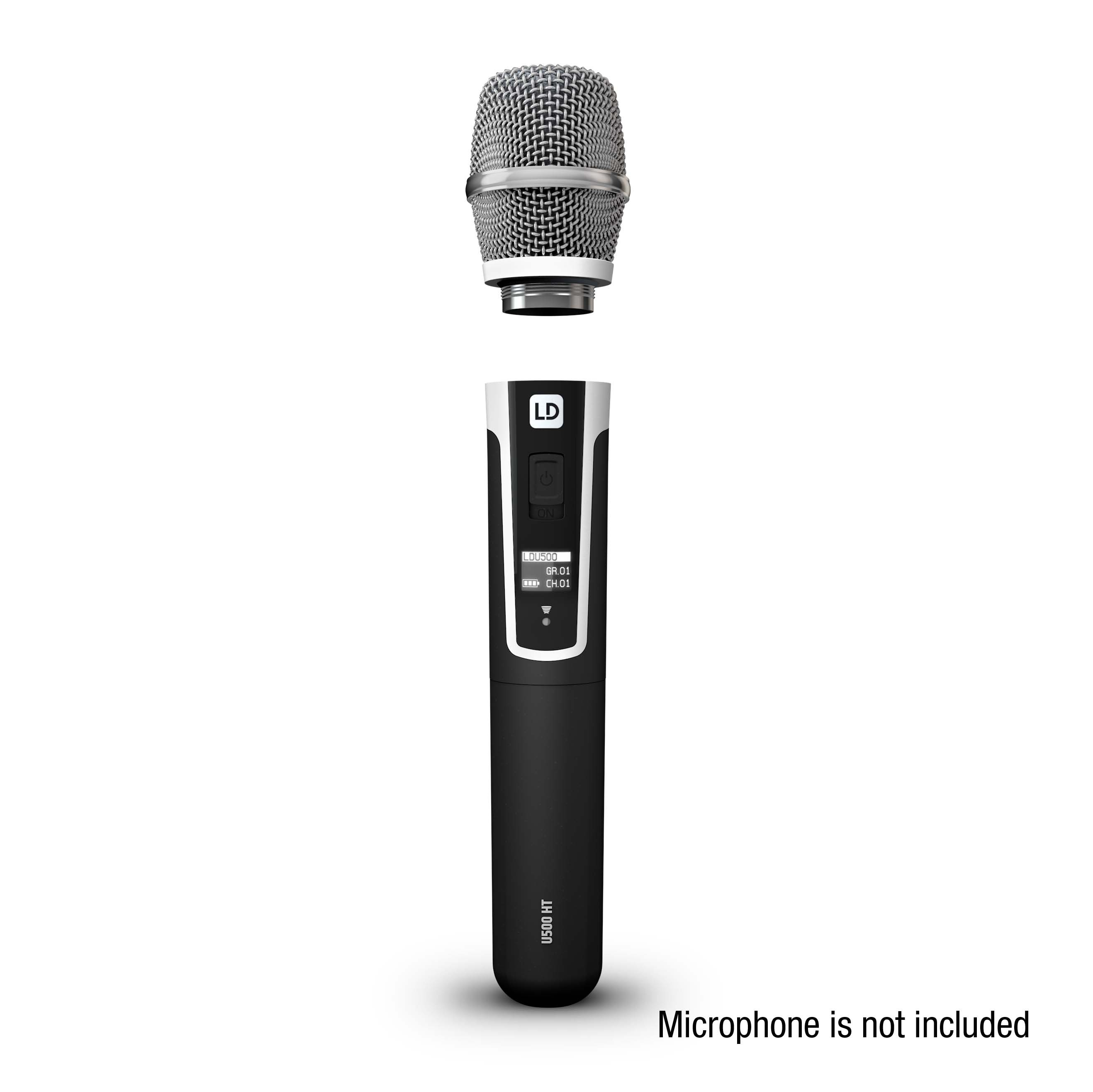 U500 CC Kondensator-Mikrofonkopf mit Nierencharakteristik