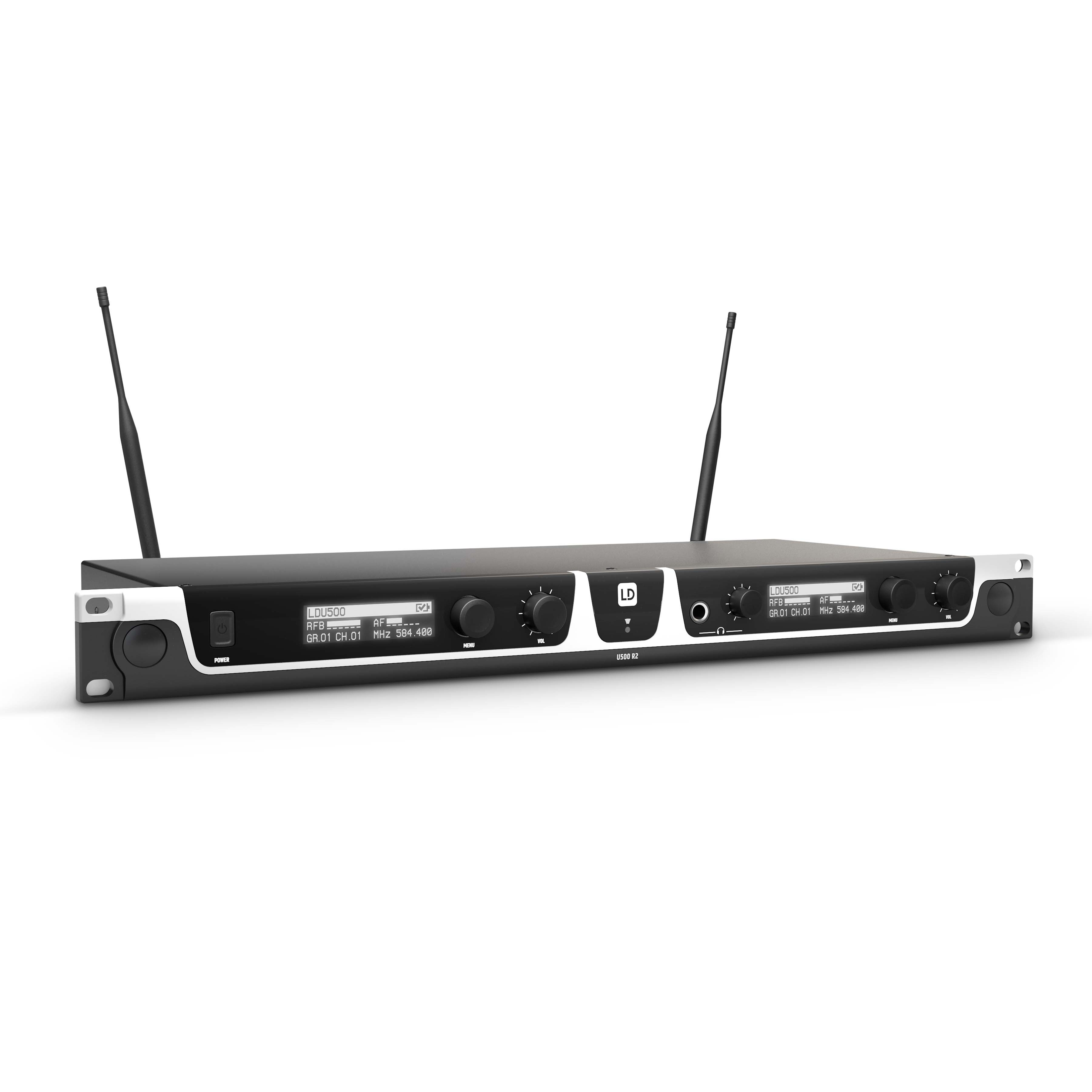 U505 BPH 2 Wireless Microphone System with 2 x Bodypack and 2 x Headset