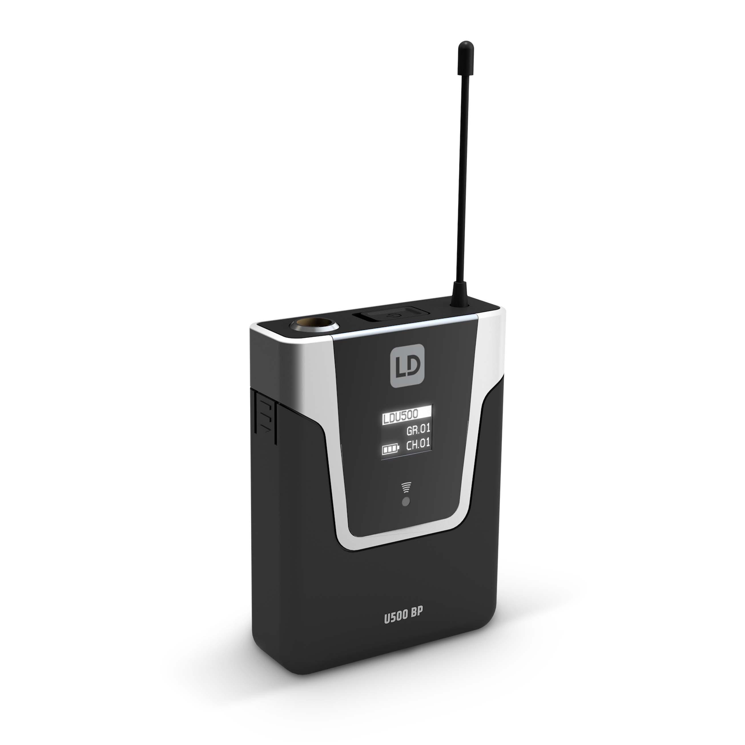U505 BPH 2 Système de Micro sans Fil avec 2 x Émetteur Ceinture et 2 x Micro Serre-tête