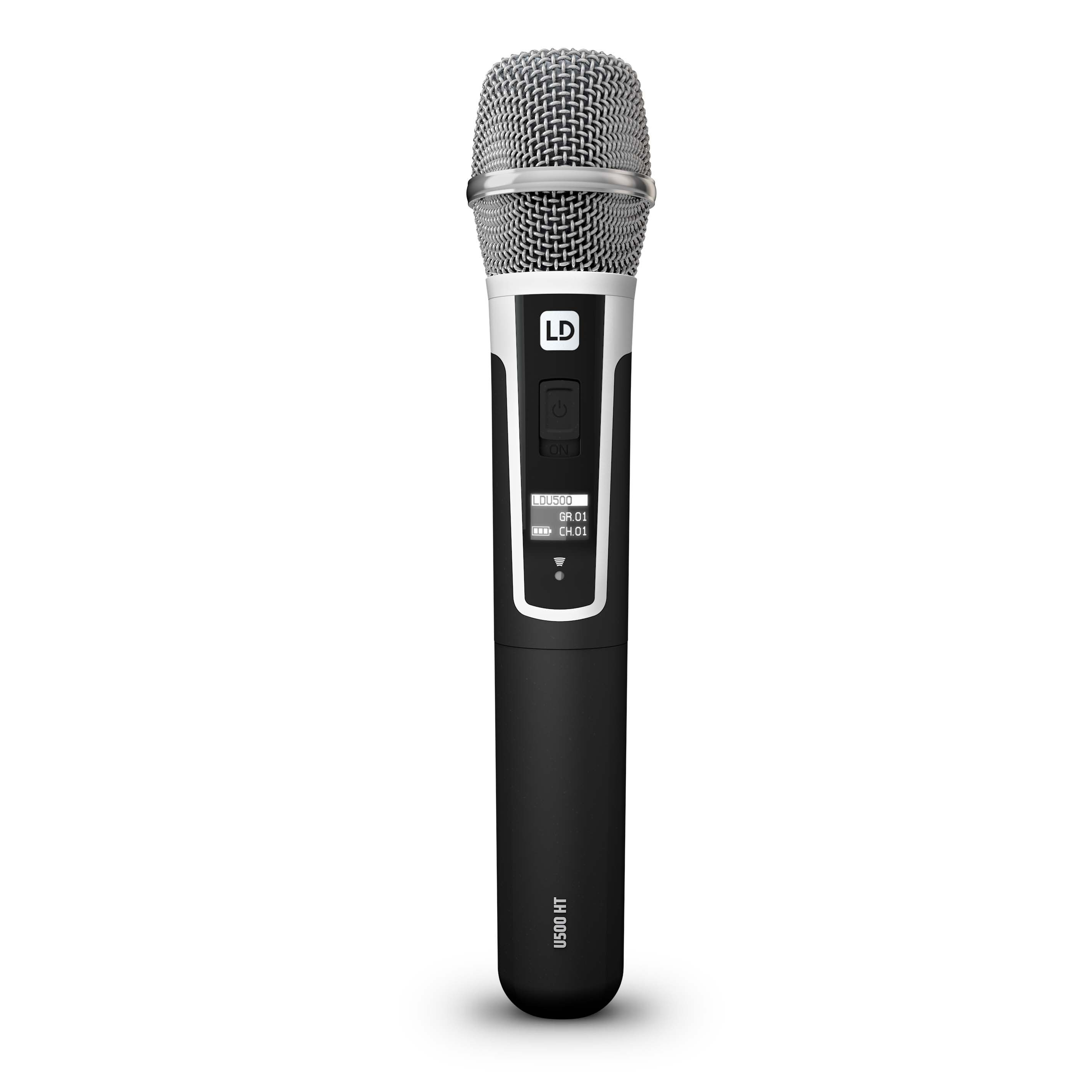 U505 HHC 2 Wireless Microphone System with 2 x Condenser Handheld Microphone