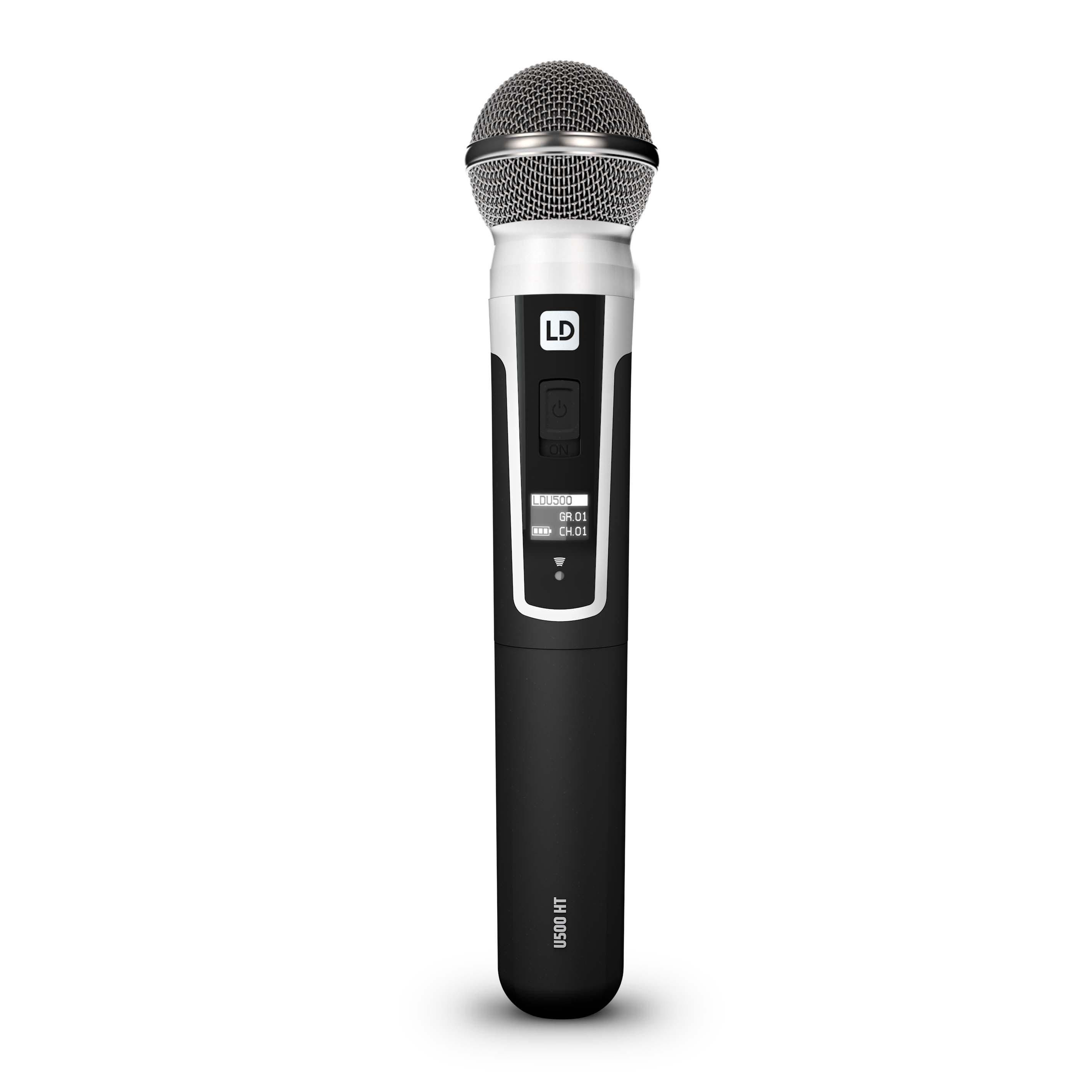 U505 HHD Sistema inalámbrico con Micrófono de Mano dinámico