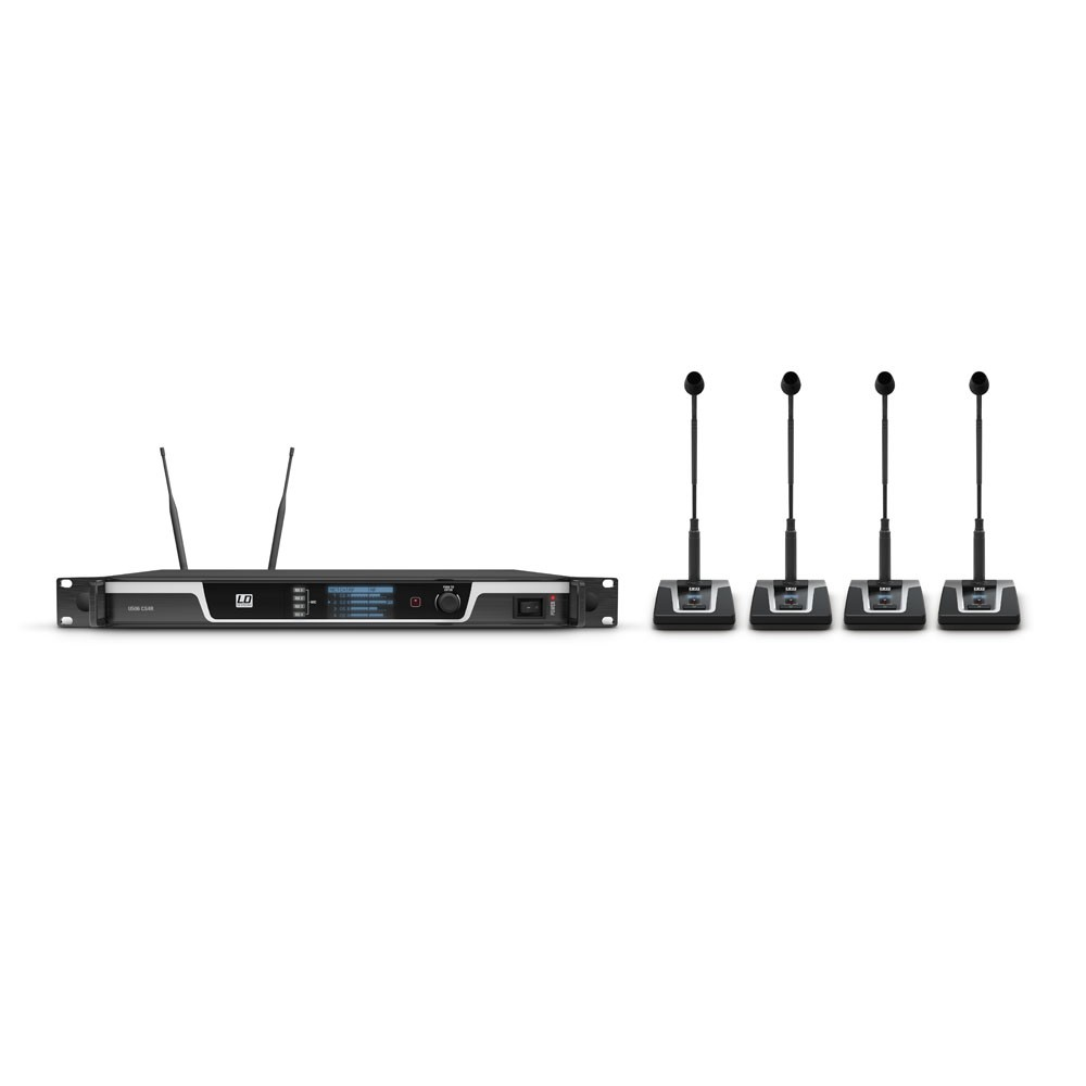 U506 CS 4 4-Channel Wireless Conference System
