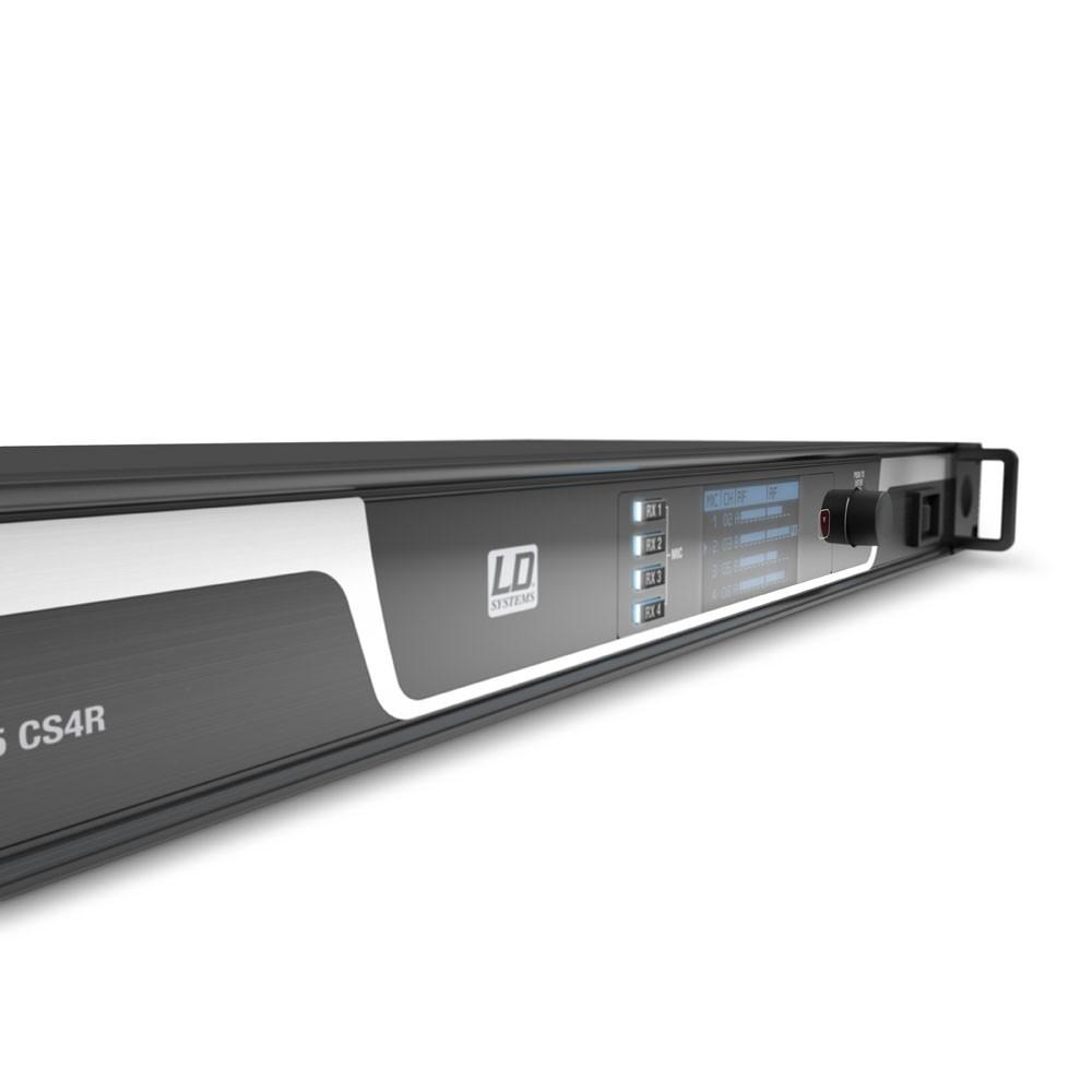 U506 CS 4 Système de conférence sans fil 4 canaux