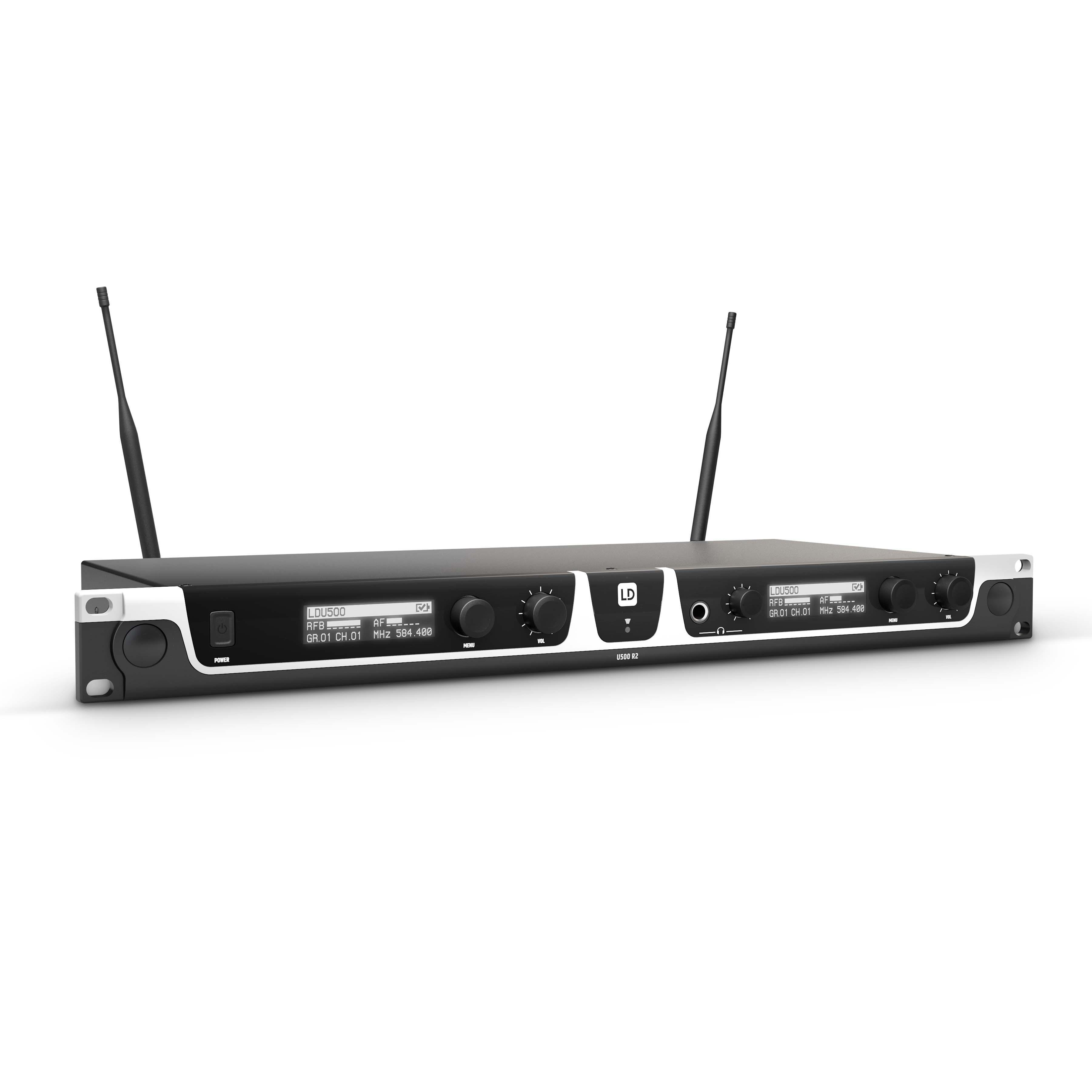 U508 HBH 2 Sistema inalámbrico con Petaca, micrófono de diadema y micrófono de Mano dinámico