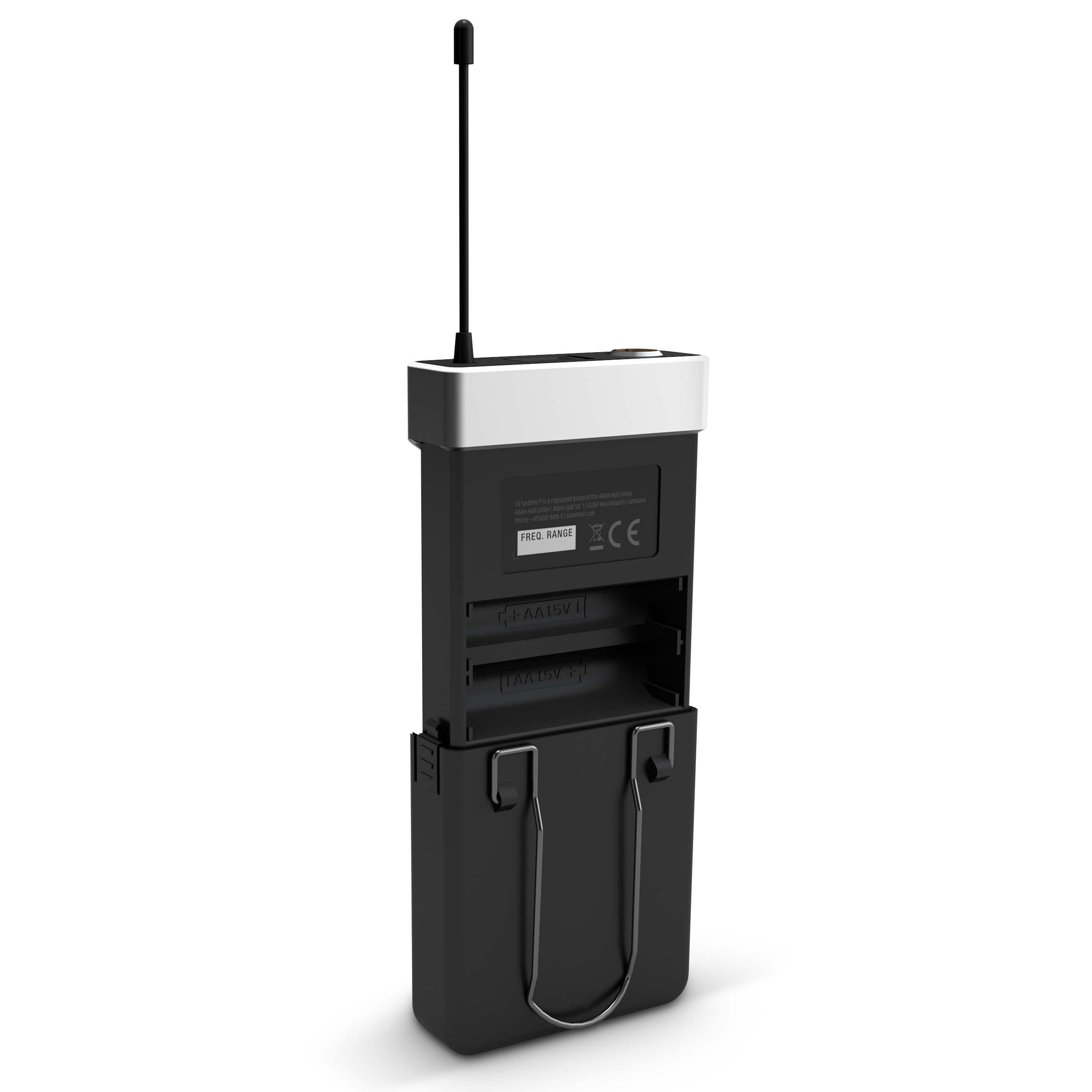 U518 BPHH 2 Funkmikrofon System mit 2 x Bodypack und 2 x Headset beigefarben