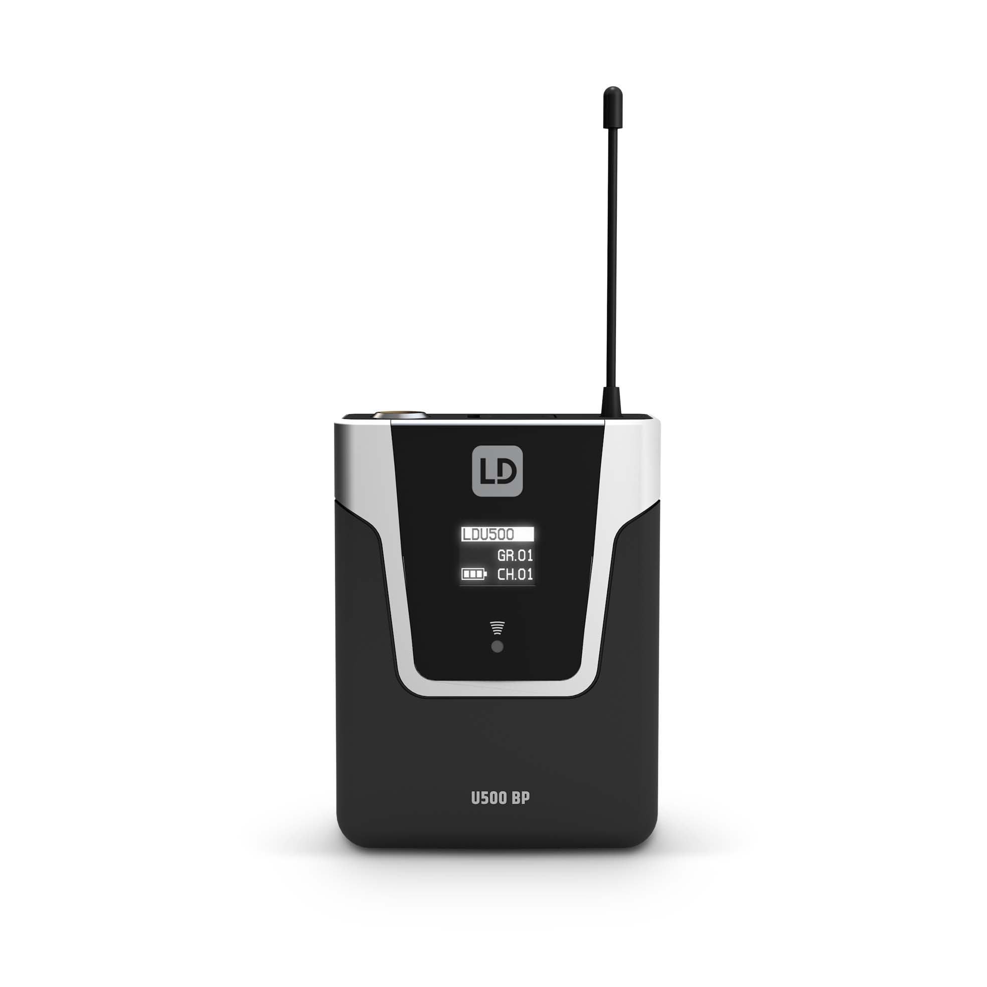 U518 BPL Wireless Microphone System with Bodypack and Lavalier Microphone