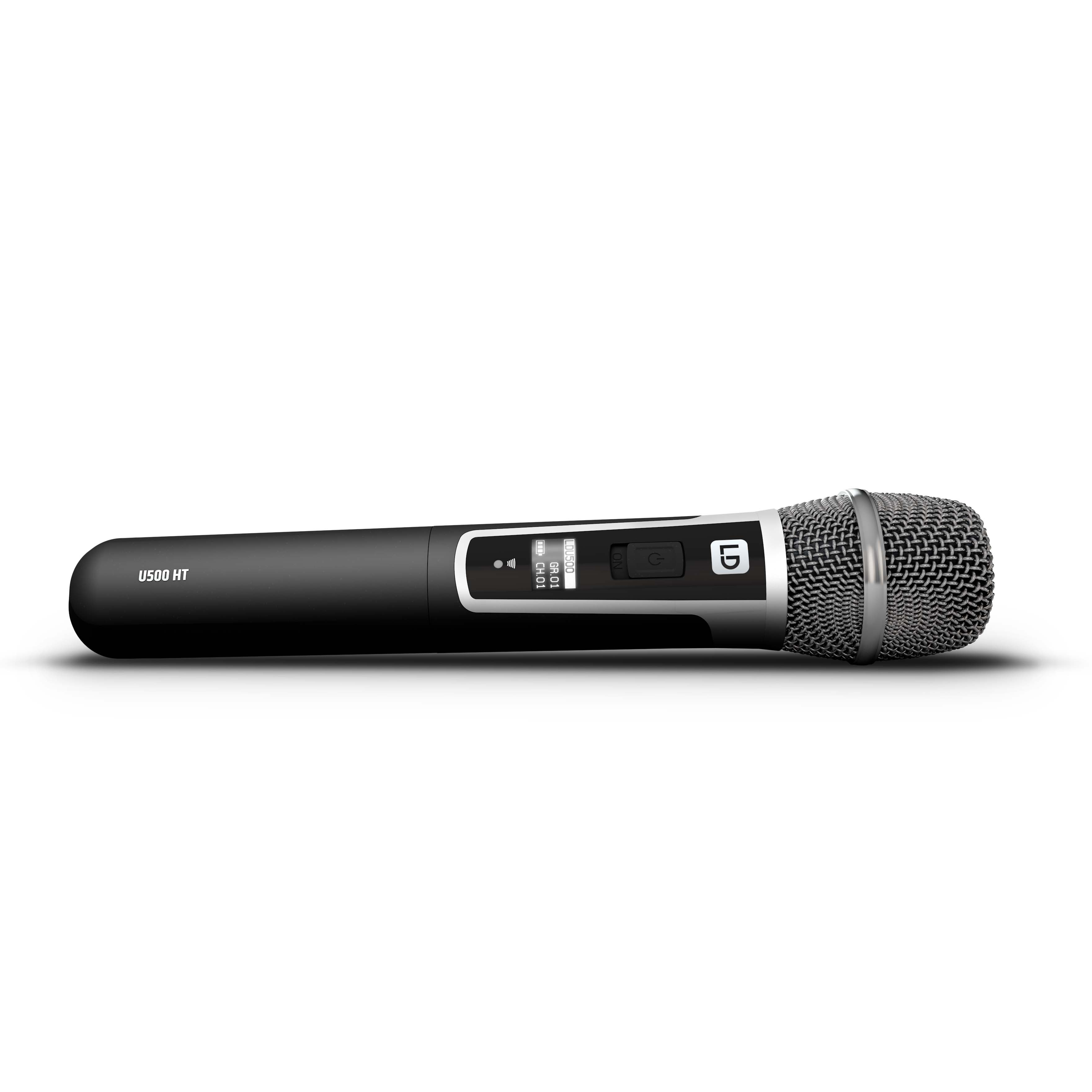 U518 HHC Wireless Microphone System with Condenser Handheld Microphone