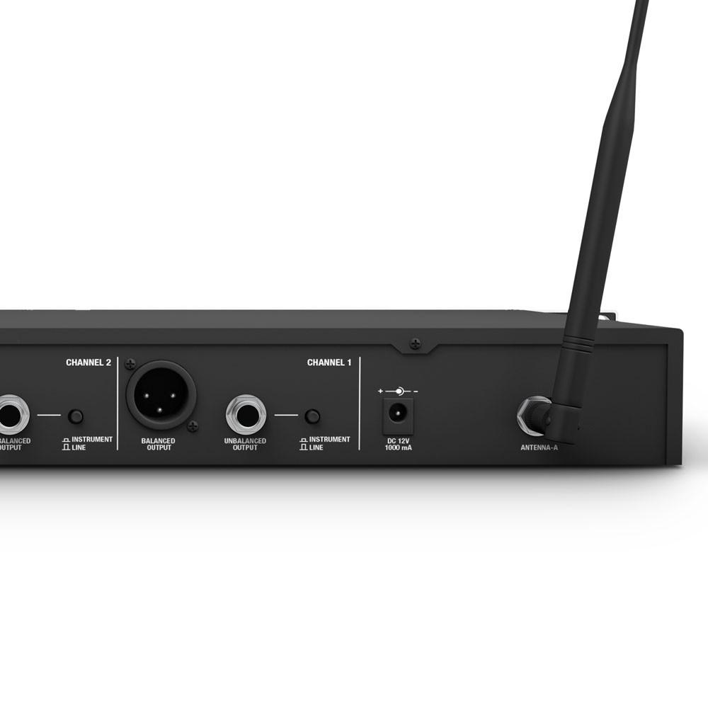 U518 HHC 2 Wireless Microphone System with 2 x Condenser Handheld Microphone