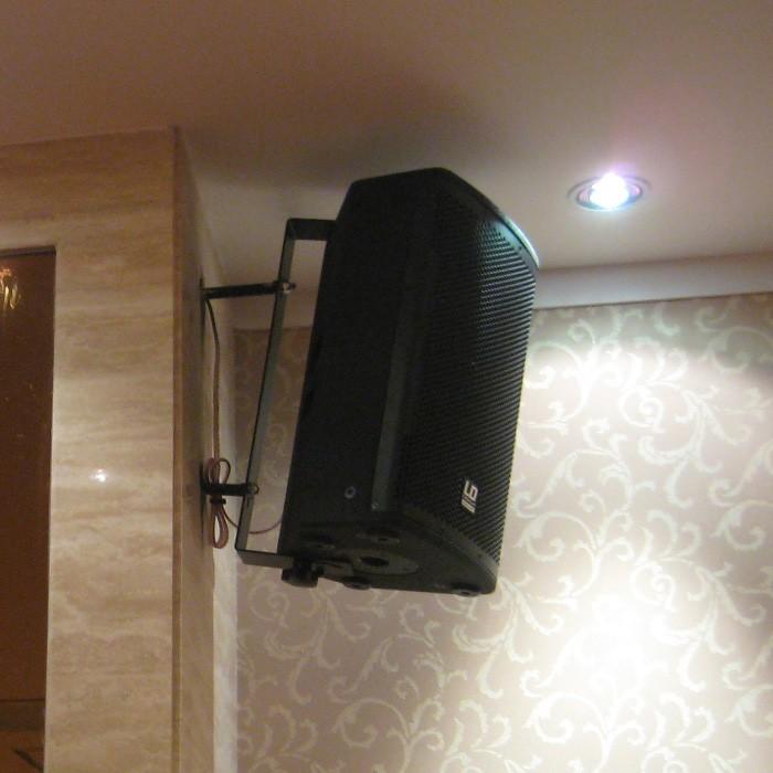 V 10 WB Wandhalterung schwarz für LDV10 und LDV10A