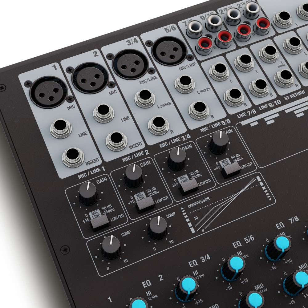 VIBZ 10 C 10 channel Mixing Console with Compressor