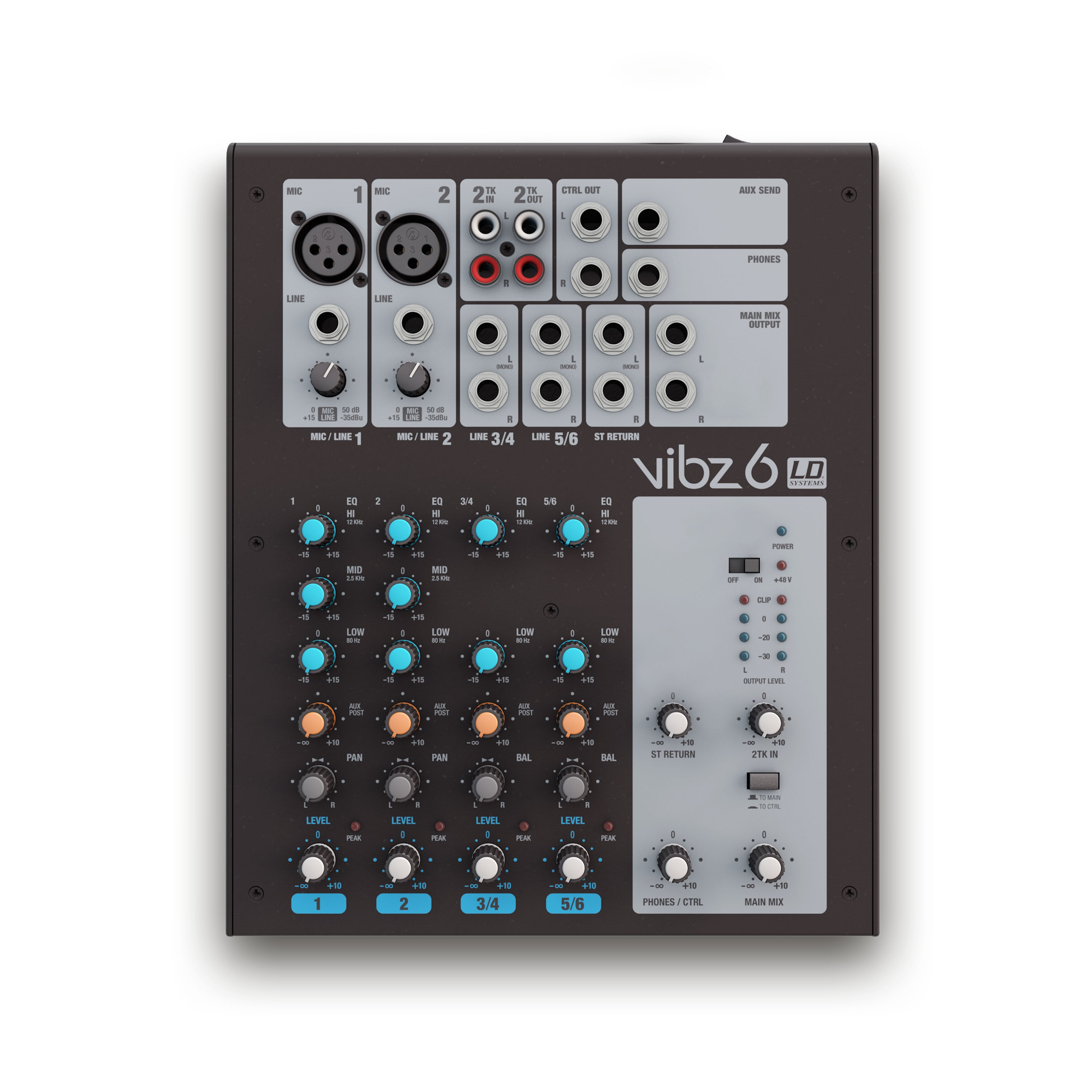 VIBZ 6 6-Kanal Mixing Console