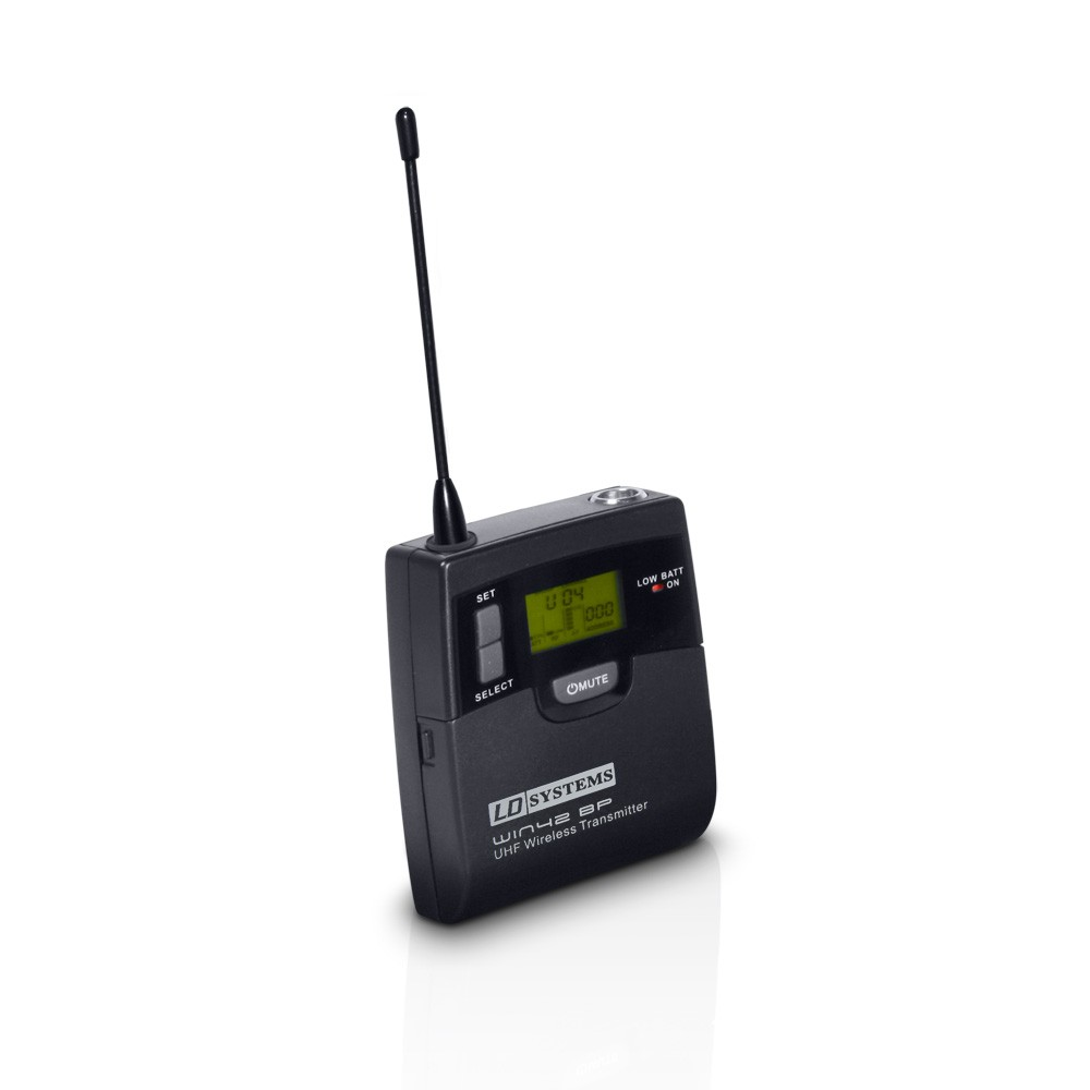WIN 42 BP Bodypack transmitter for LD WIN 42 BPH wireless microphone system