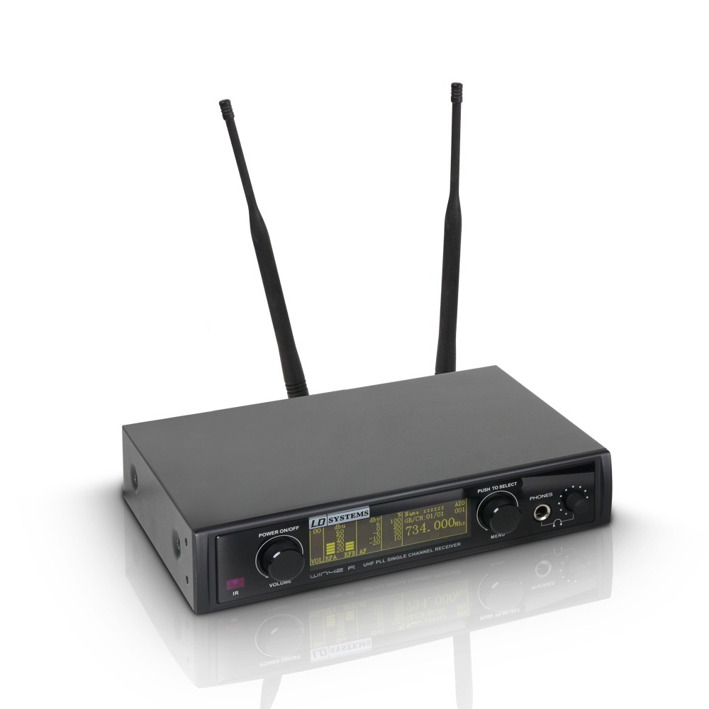 WIN 42 BPH Wireless Microphone System with Belt Pack and Headset