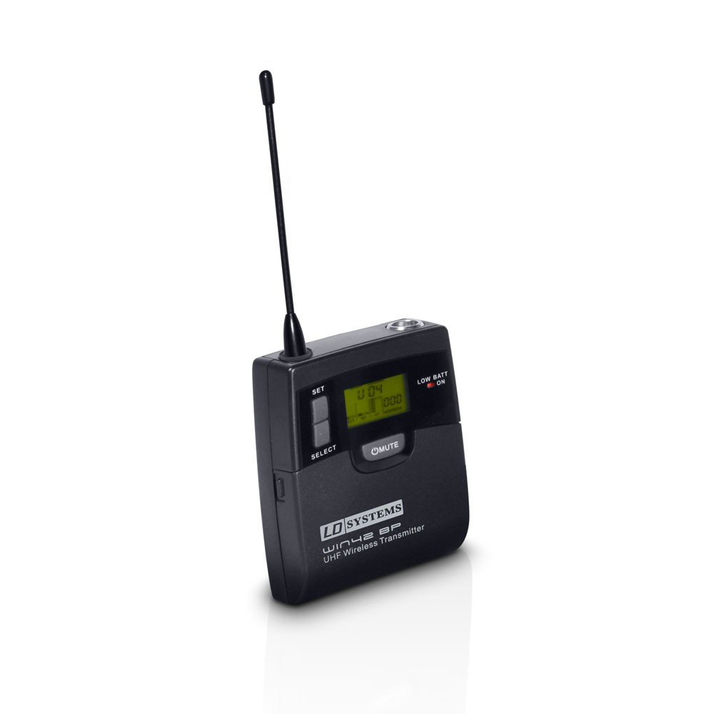 WIN 42 BPH B 5 Wireless Microphone System with Belt Pack and Headset