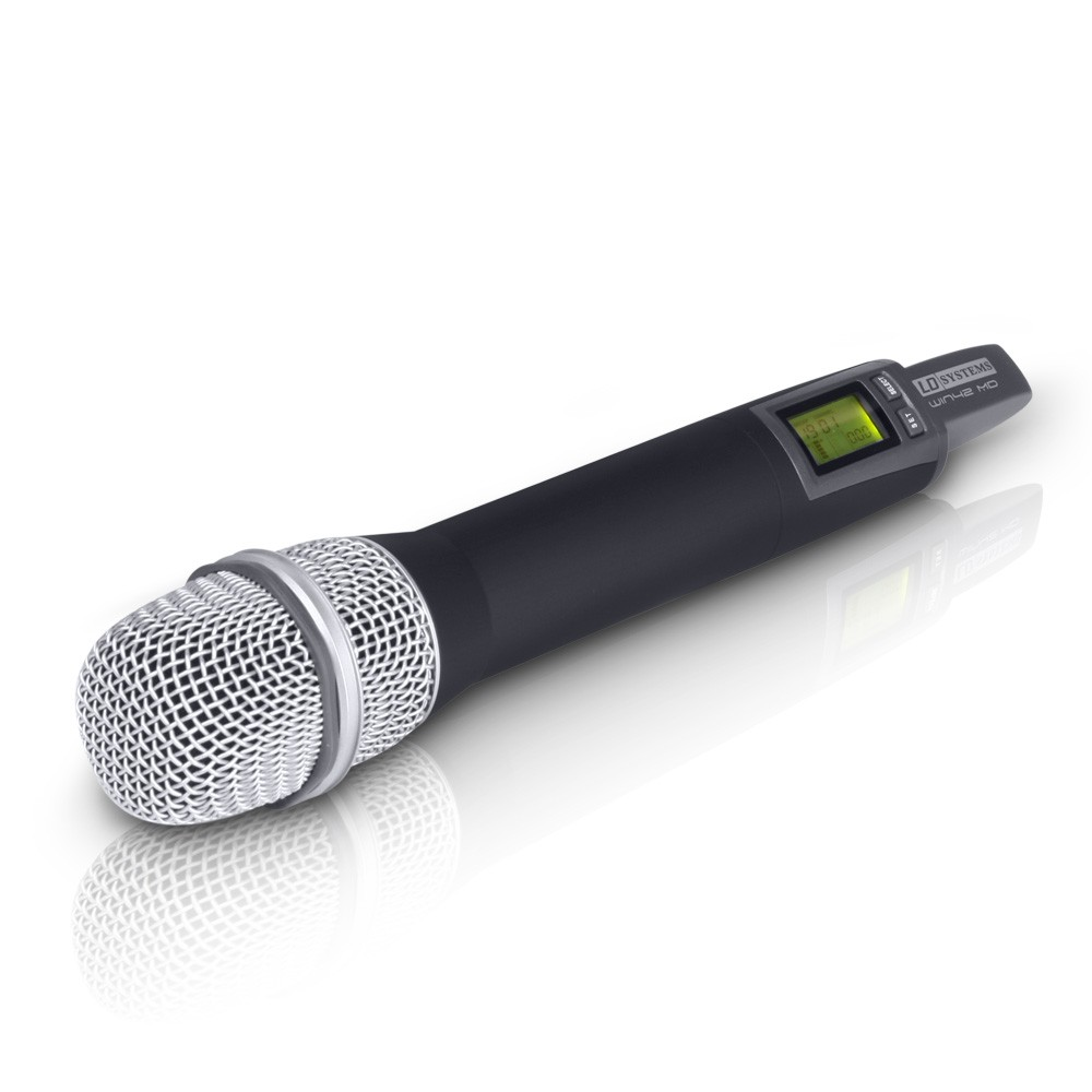 WIN 42 HHD 2 Wireless Microphone System with 2 x Dynamic Handheld Microphone