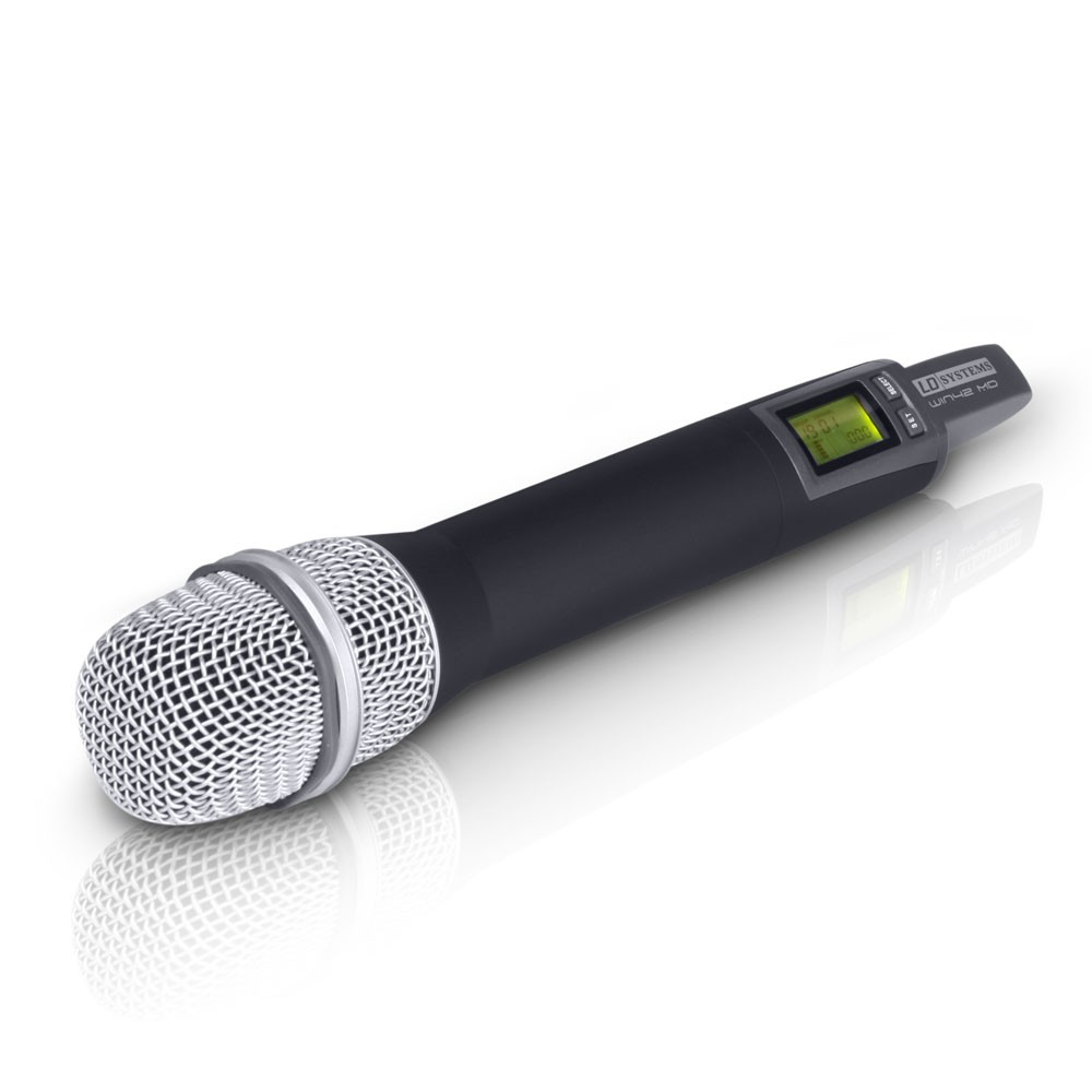WIN 42 HHD 2 B 5 Wireless Microphone System with 2 x Dynamic Handheld Microphone
