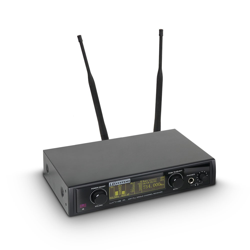 WIN 42 R Receiver for LD WIN 42 wireless microphone system