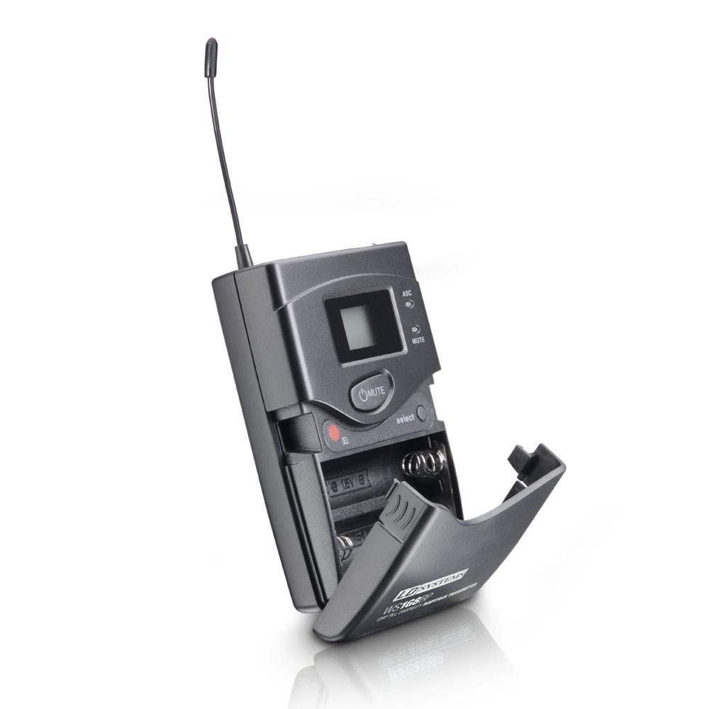 WS 1G8 BPH2 Système de Micro sans Fil avec 2 x Émetteur Ceinture et 2 x Micro Serre-tête