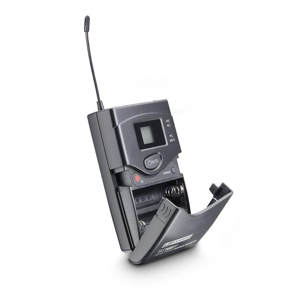 WS 1G8 BPL Système de Micro sans Fil avec Émetteur Ceinture et Micro Cravate