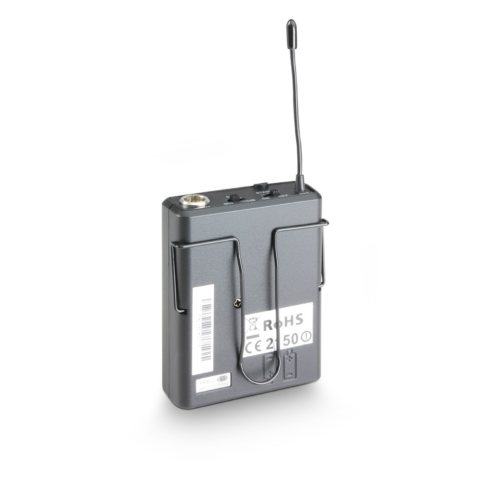 WSECO 2 BPB 6 I Belt pack transmitter