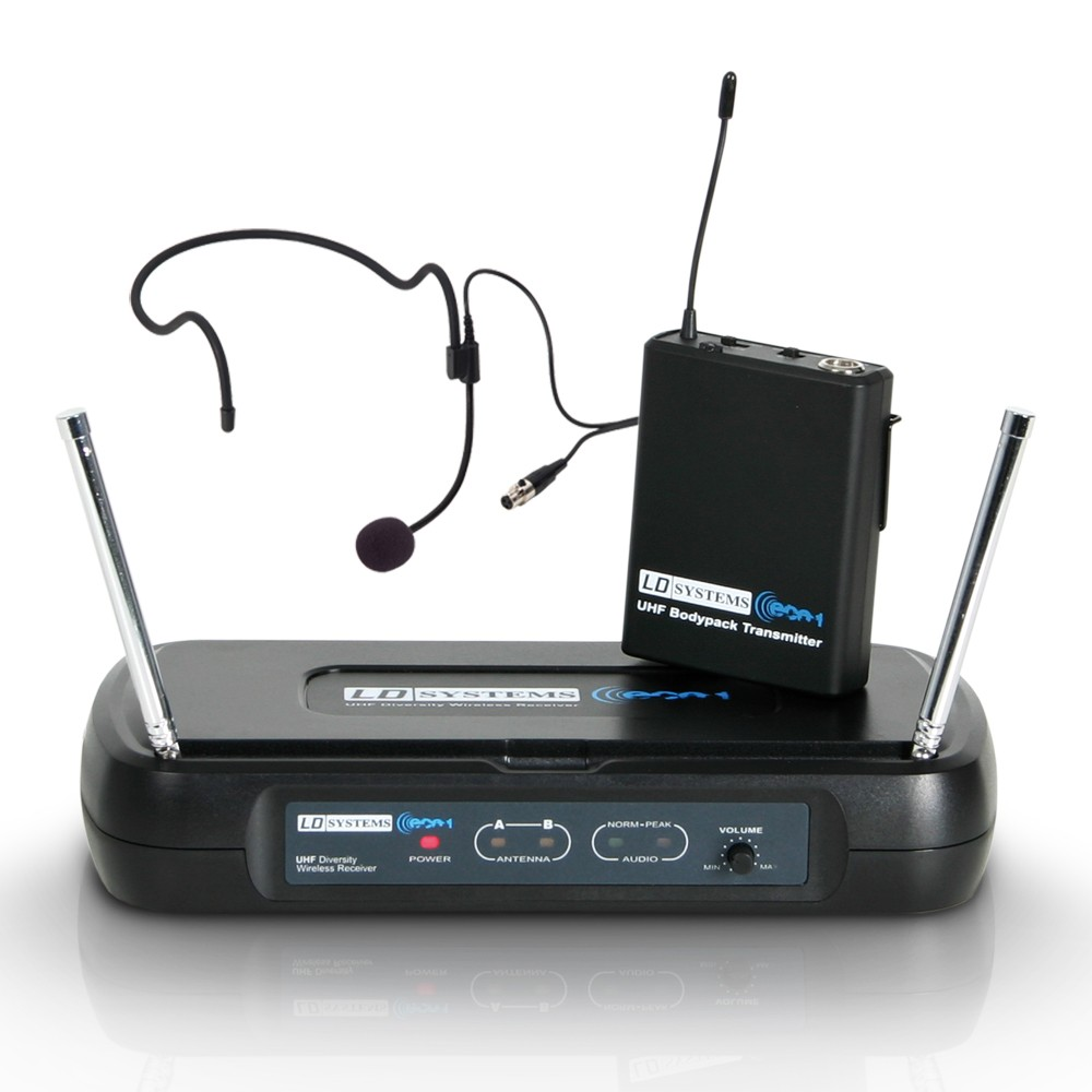 ECO 2 BPH 2 Wireless Microphone System with Belt Pack and Headset
