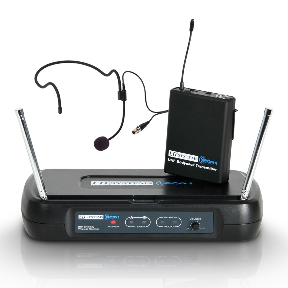 ECO 2 BPH 3 Wireless Microphone System with Belt Pack and Headset