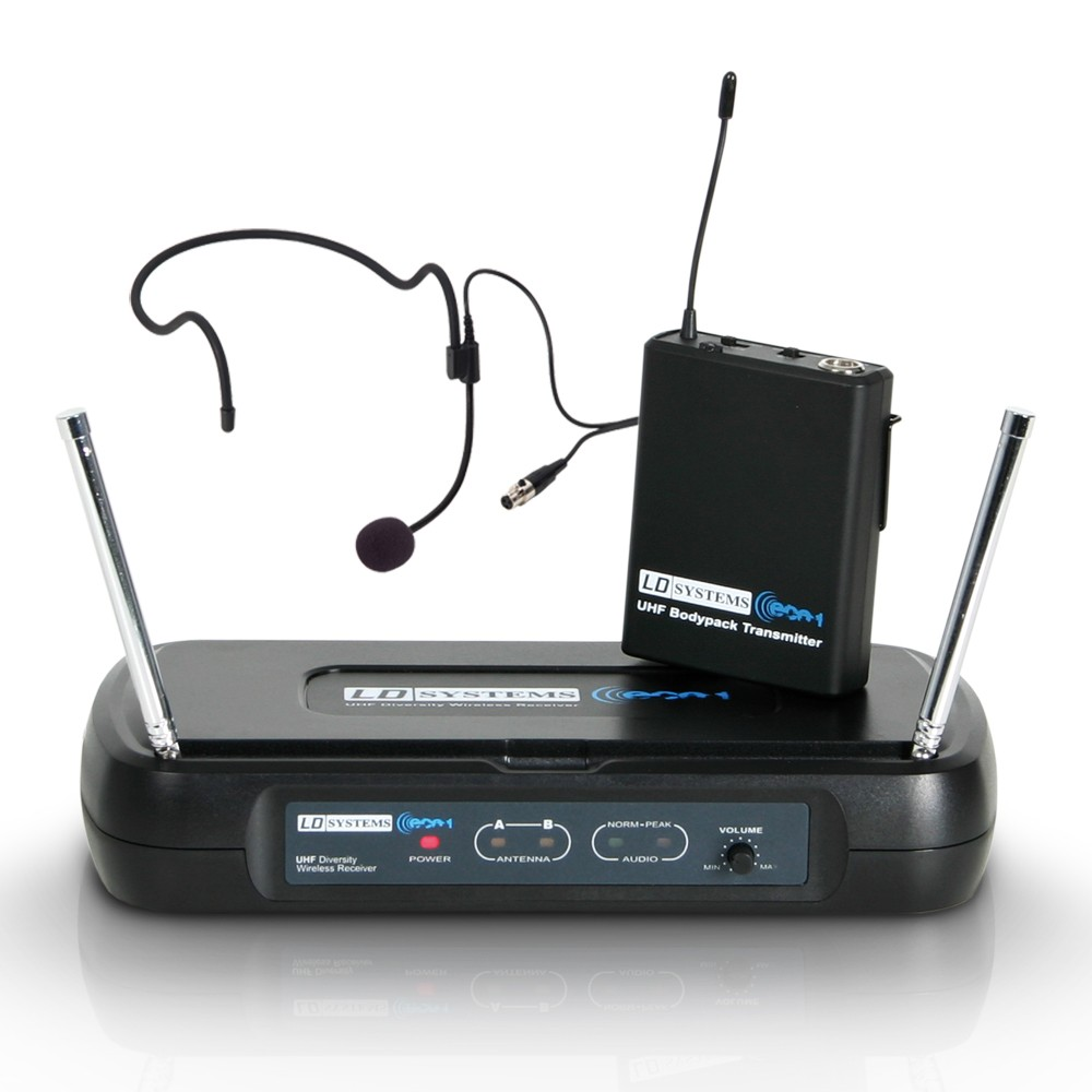 ECO 2 BPH 4 Wireless Microphone System with Belt Pack and Headset