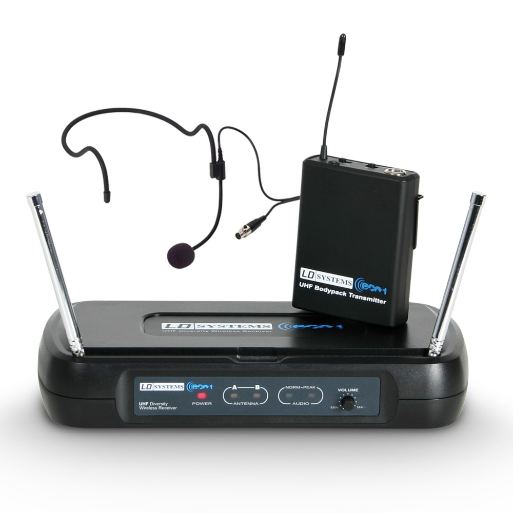 ECO 2 BPH B6 I Wireless microphone system with belt pack and headset