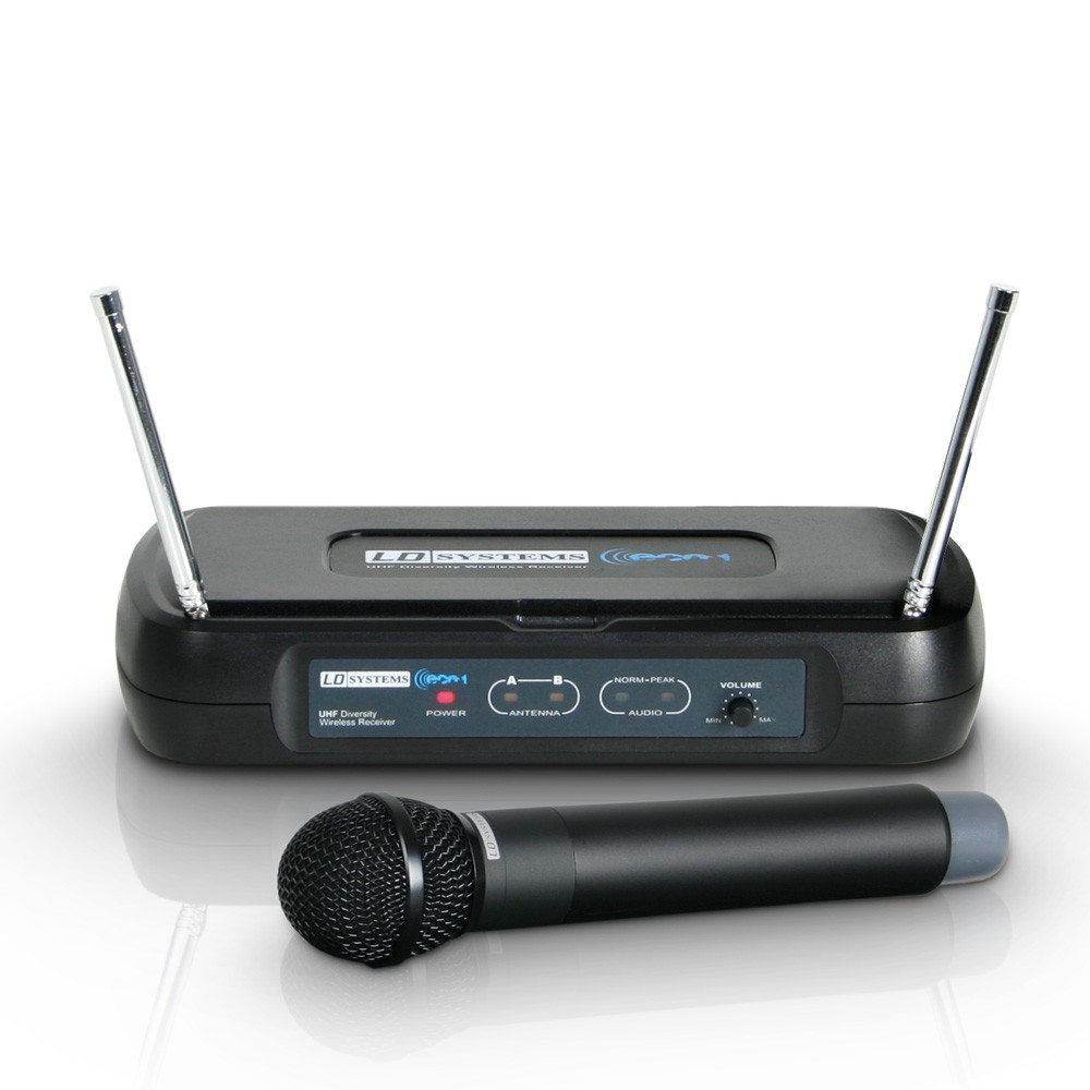 ECO 2 HHD 1 Wireless Microphone System with Dynamic Handheld Microphone