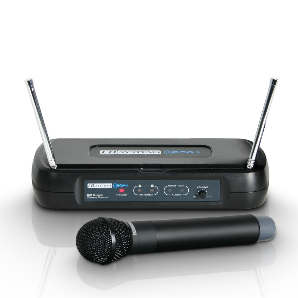 ECO 2 HHD 2 Wireless Microphone System with Dynamic Handheld Microphone