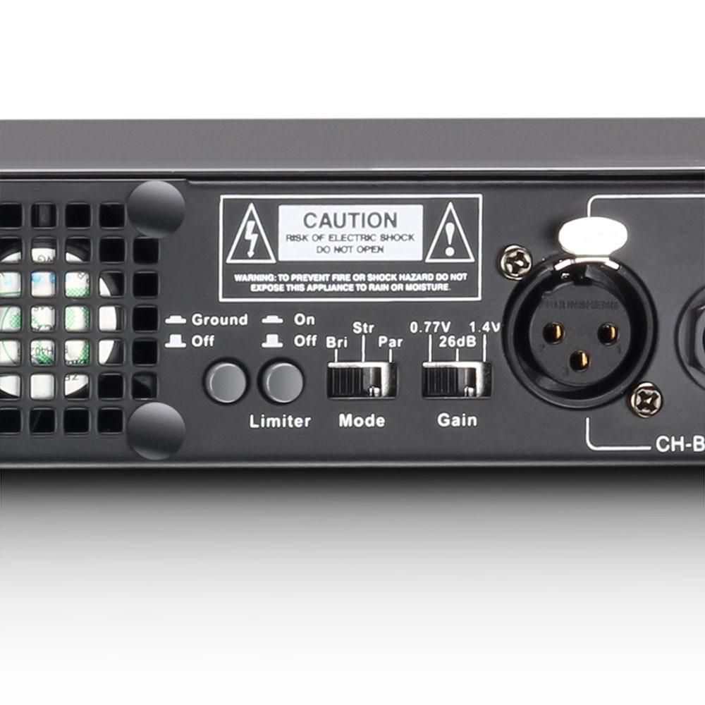 XS 700 PA Power Amplifier Class D 2 x 350 W 4 Ohms