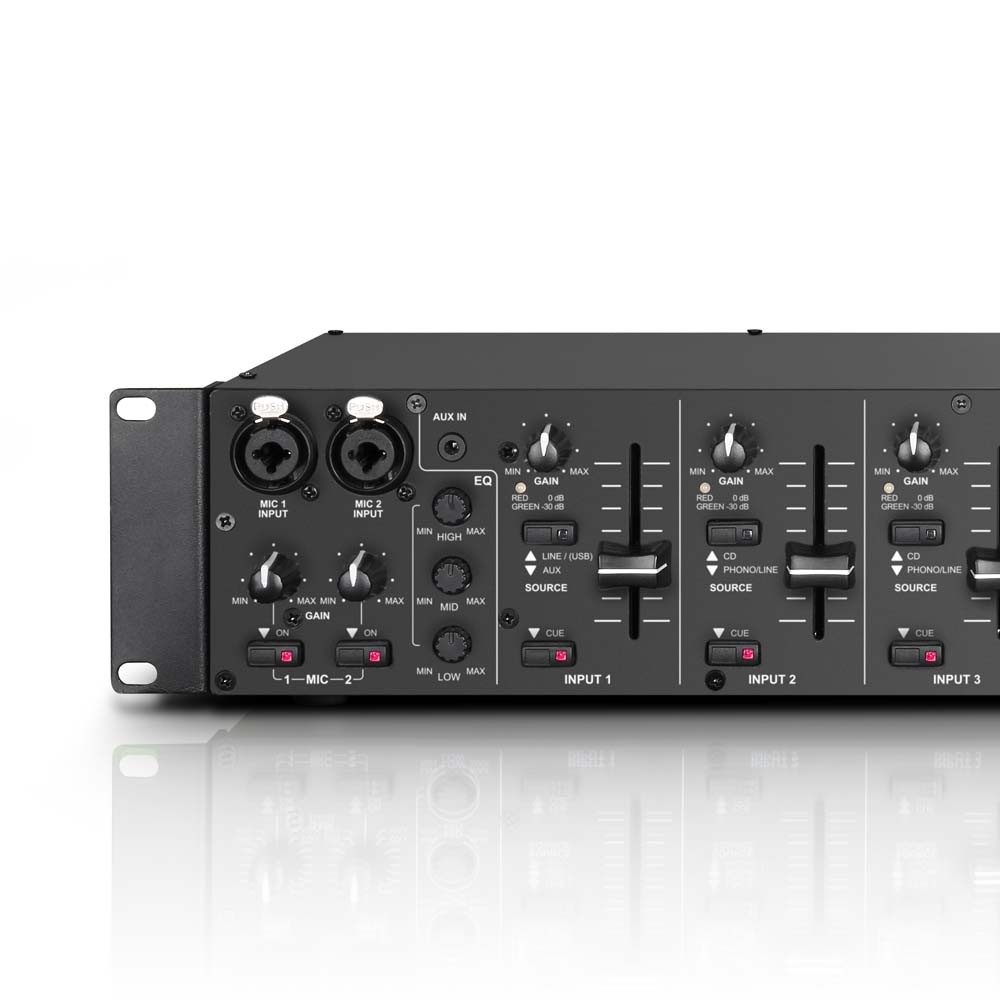 "ZONE 423 19"" 2-Zonen Mixer 2HE"