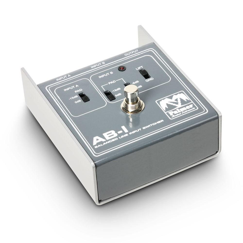 Palmer Mi Switchers Abcd 4 Way Switch Box Peabi Balanced Line Input Switcher