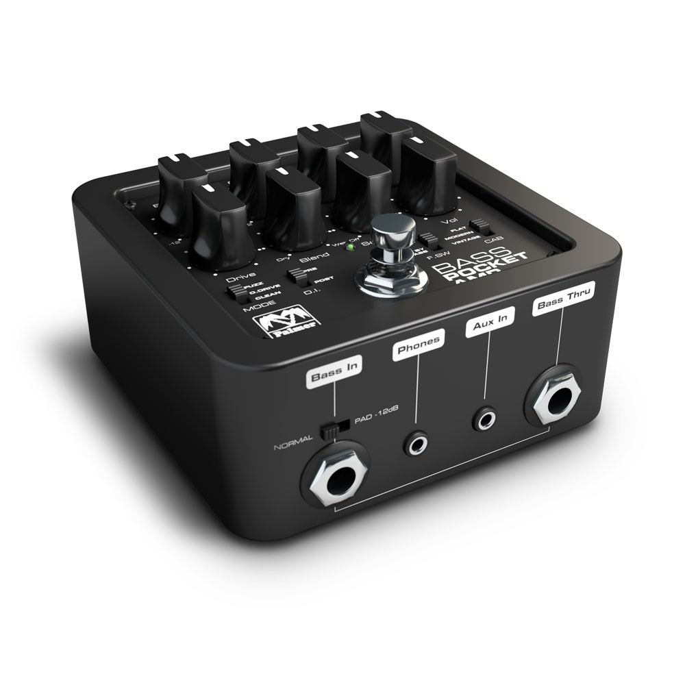 Palmer Mi Guitar Amplifiers 60w Bass Amplifier Pepampbass Portable Preamp