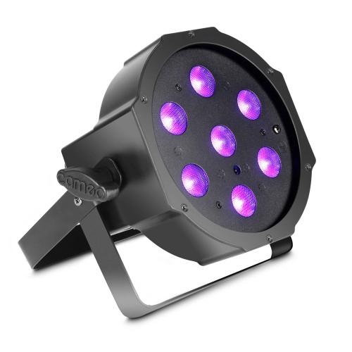 FLAT PAR CAN 7X3W UV IR