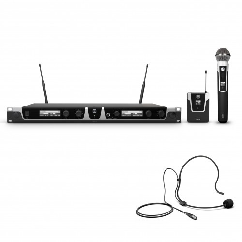 LD Systems U518 HBH 2 | Wireless Systems with Bodypack and