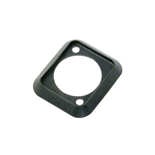 Grommet Rubber White  Panel Thickness=2mm Feedthough Hole=8mm Mounting Hole=10mm