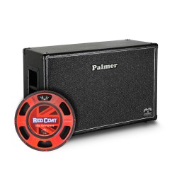"PCAB212GOVOB - Baffle Guitare 2 x 12"" avec HP Eminence Governor 8/16 Ohms Open Back"