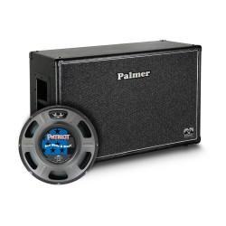 "PCAB212RWBOB - Baffle Guitare 2 x 12"" avec HP Eminence Red White and Blues 4/8 Ohms Open Back"